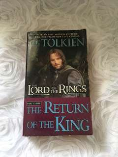 "Lord of the Rings "" The Return of the King"""