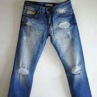 Exclusive Celana Ripped Jeans Premium