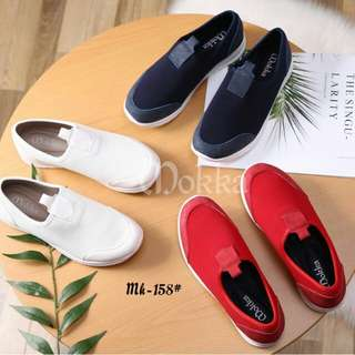 [MOKKA CARISSA SNEAKERS SLIPON MK-158] Sepatu Fashion Wanita Impor Murah