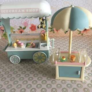 Sylvanian Families ice creamshop