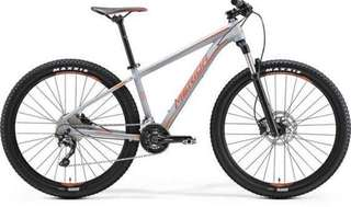 Merida Big Seven 500 Bicycle FORK Rock Shox FS 30STK27 SA 100 with Xpedo pedals
