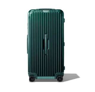 "RIMOWA ESSENTIAL Trunk 29"" 832.75.64.4 Creen Gloss 2018最新款 碧璽綠 HKD6800😎"
