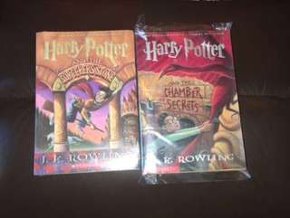 Harry Potter book 📖 1&2