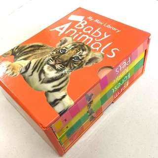 [USED] Baby Animals Hardcover Box Set