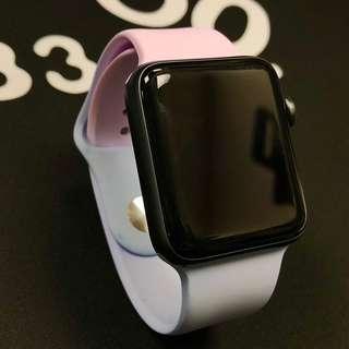 Apple Watch 42mm diy 粉色系 錶帶 (strap only)