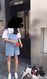 🚚 吊帶短褲(S)