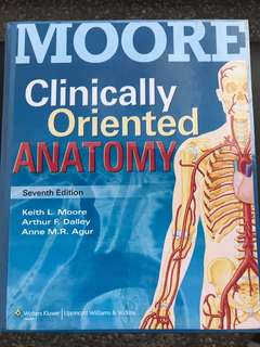 Moore Clinically Oriented Anatomy (7th Ed)