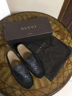 Gucci Guccisima Moccassin US7 Black