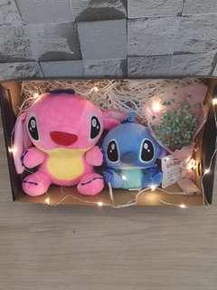 Mini baybreath with Stitch gift set