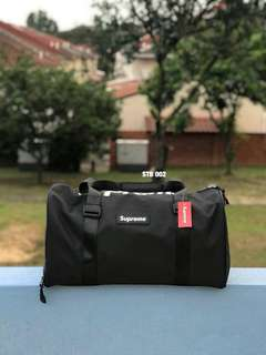 Travel Bag Supreme Black