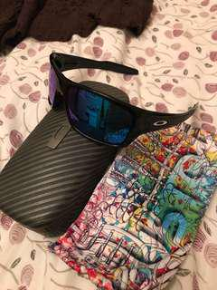 Custom Men's Oakley Turbine Sunglasses