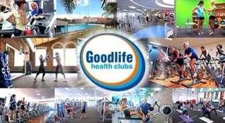 Transfer GoodLife gym card