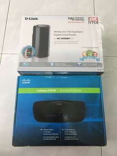 D-Link AC1750 and Linksys