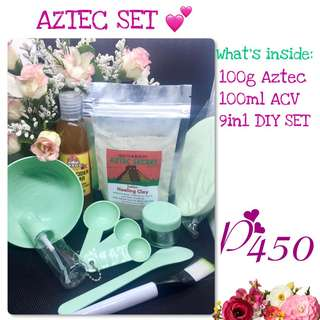 AZTEC with 7 in 1 DIY MASK SET