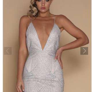 Meshki sliver dress