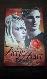 The fiery heart                  hardbound