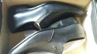 Otto Leather Black Shoes