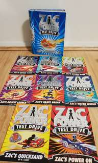 Zac power books