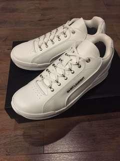 Saint Laurent YSL white runner sneakers shoes EU 41.5