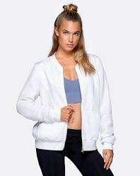 LORNA JANE Take The Leap White Jacket