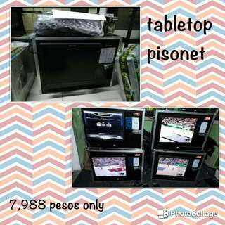 Tabletop Pisonet Package