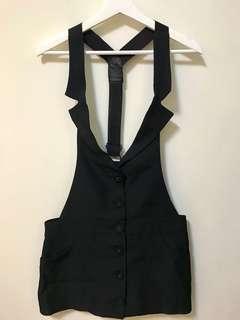 🚚 全新韓版西裝吊帶裙