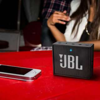JBL GO Portable Wireless Bluetooth Speaker Black Color