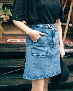 🚚 前口袋丹寧短裙(可pc蝦皮)