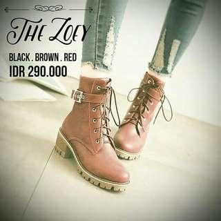 Sepatu Boots PO! - Korean The Zoey