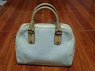 Michael kors patent leather handbag