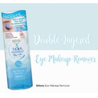 (NEW) Bifesta Eye Makeup Remover 145ml