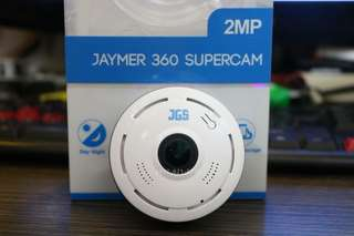 360 Supercam CCTV that works with or without wifi.
