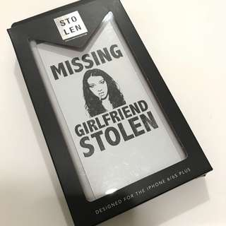 STOLEN Missing Girlfriend Stolen iPhone 6/6s Plus Case