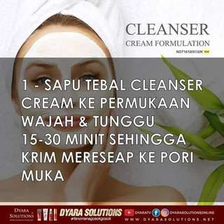 DYARA SOLUTION CLEANSER CREAM