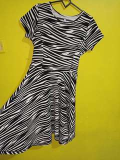 Mini dress zebra joanna