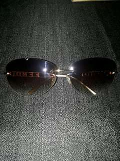Fendi Swarovski Logo Sunglass Authentic
