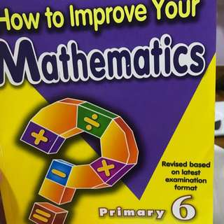 🚚 PSLE mathematics assessment book