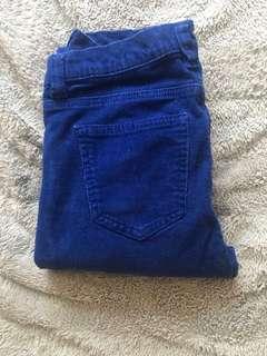 Blue pants Sz 2
