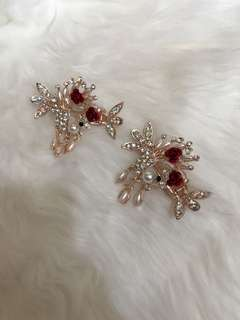 JEDAI Red rose accesories