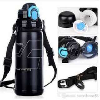 800ML vacuum Termos Coffee Sport Bottle