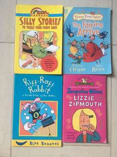 4 Chapter books for beginning independent readers