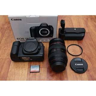 Canon 5D mark ii with 24-70mm F2.8
