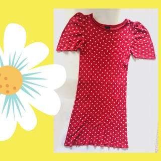 Dress Polkadot Topshop