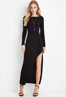 Forever 21 Long back dress