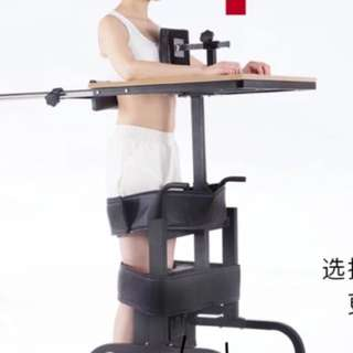 Standing aid for stroke patient