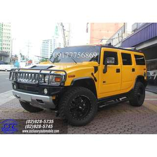 2004 HUMMER 40TKMS GOOD RUNNING CONDITION