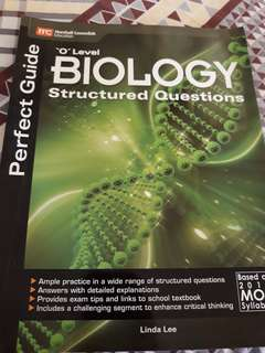 O level biology guide with structured questions
