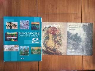 3 art books for $20