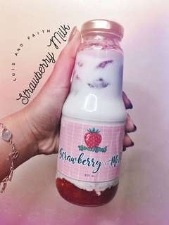 STRAWBERRY MILK by Luis and Faith