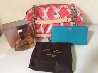 Authentic Kate Spade bag & Wallet